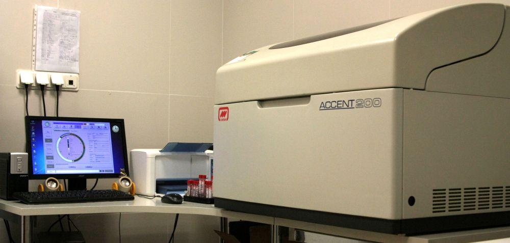 Биохимический автоматический анализатор Accent 200 (Cormay, Польша).
